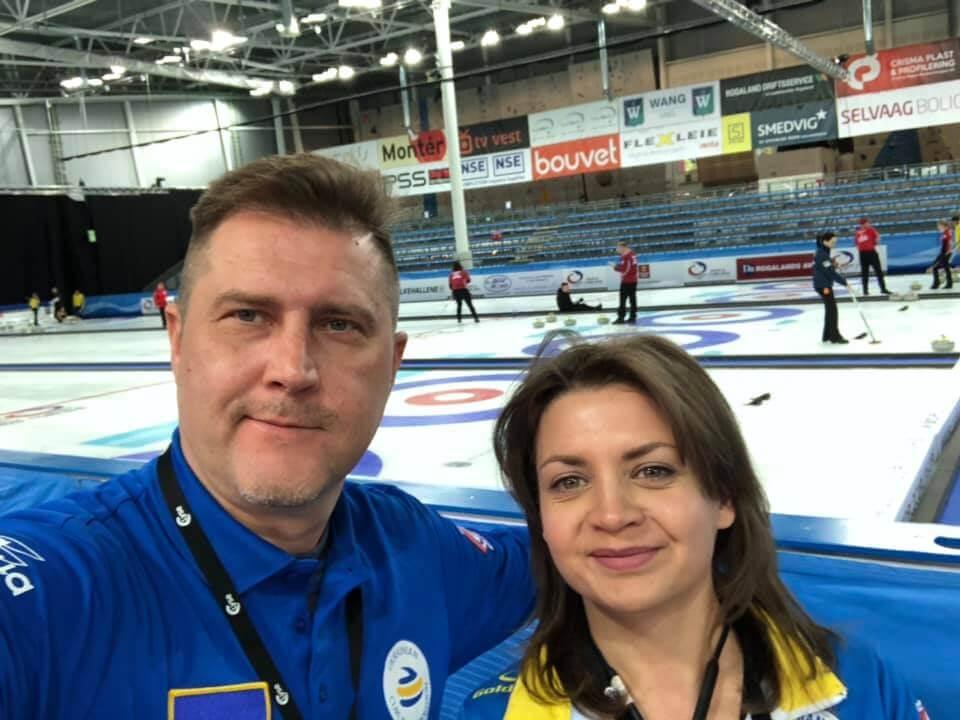 Evgen and Elena photo